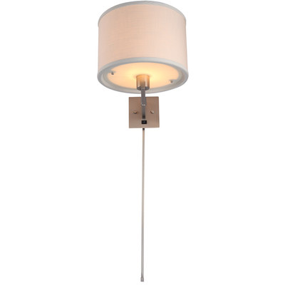 swing arm wall lamp plug in photo - 6