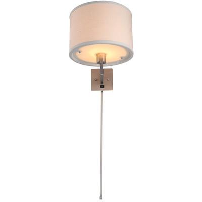 swing arm wall lamp plug in photo - 6
