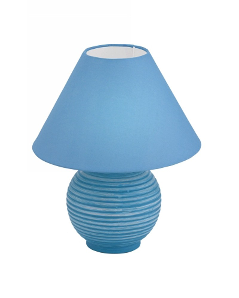 table lamp blue photo - 7