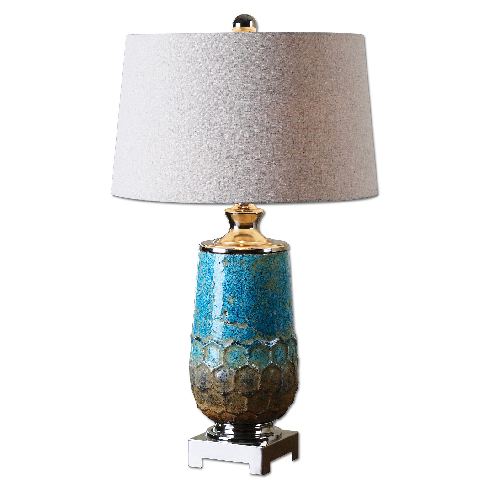 table lamp blue photo - 8