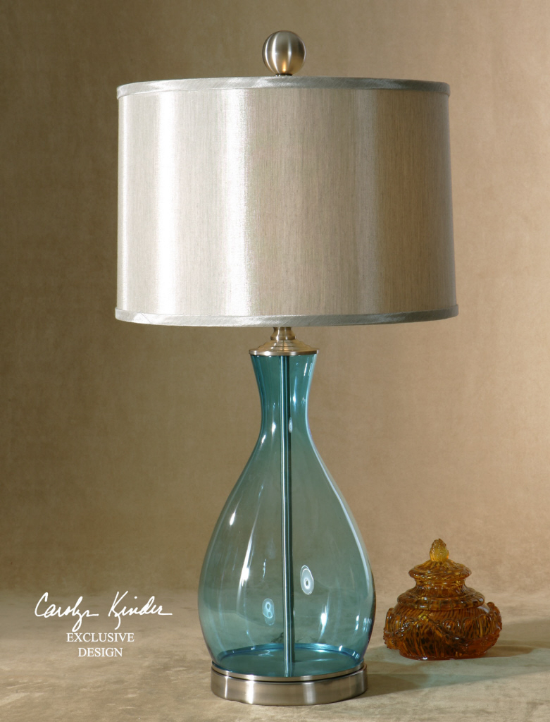 table lamp blue photo - 9
