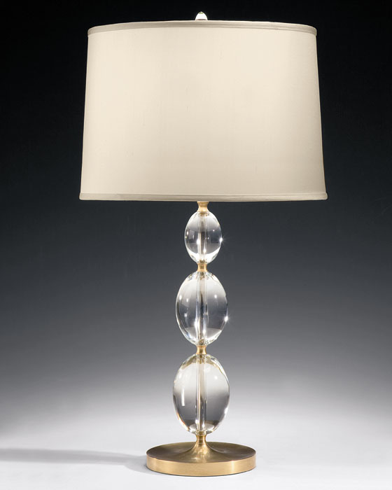 table lamp crystal photo - 2