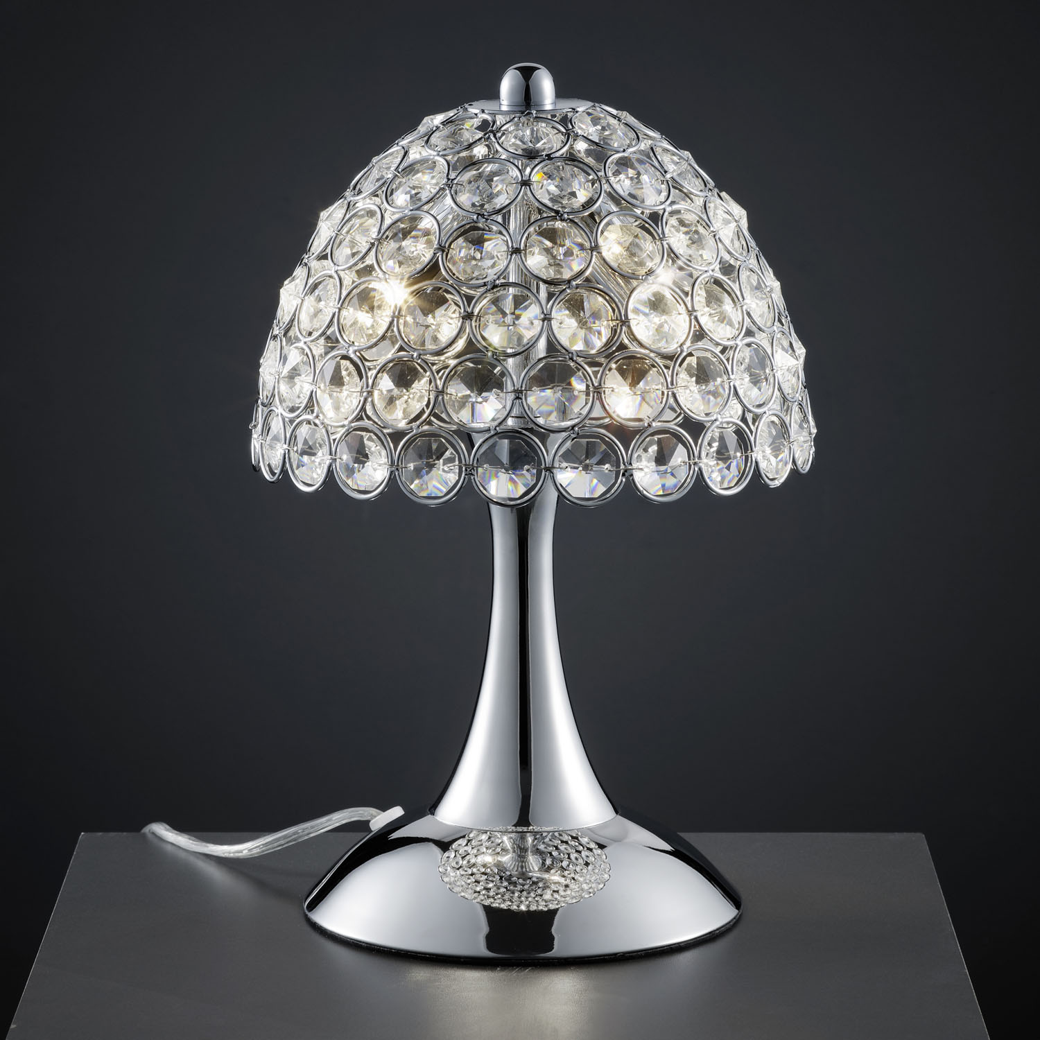 table lamp crystal photo - 4