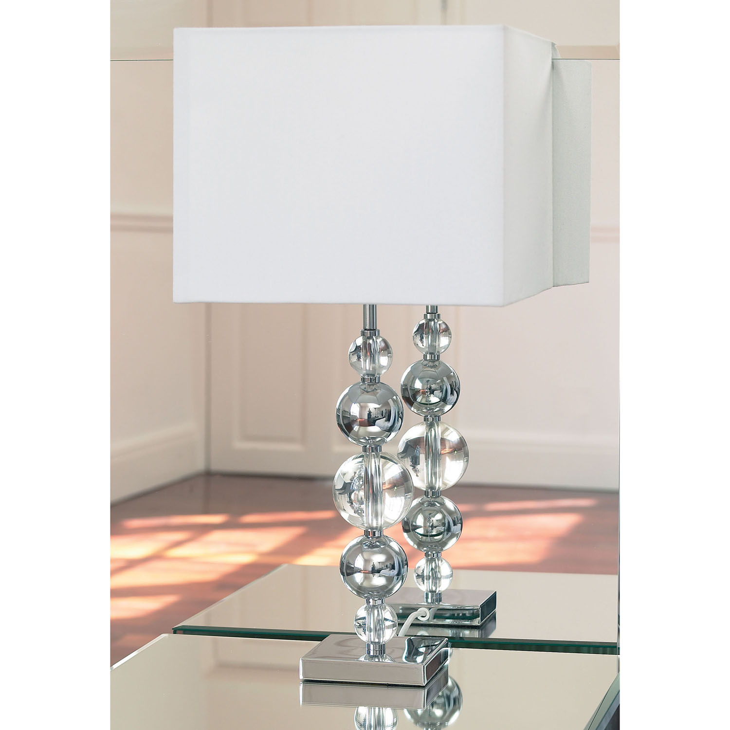 table lamp crystal photo - 9