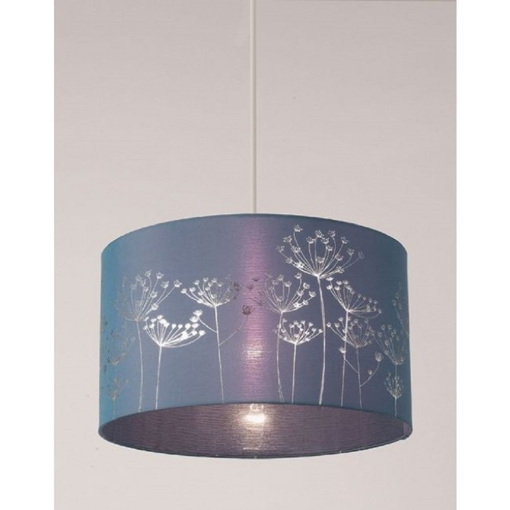 teal ceiling light shades photo - 2