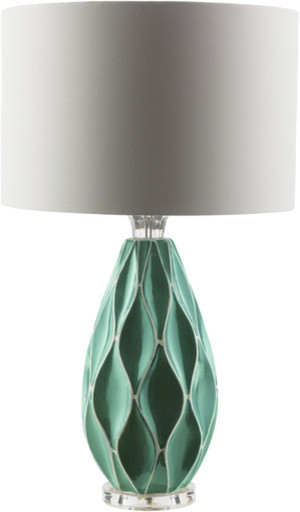 Teal Table Lamps: teal table lamps photo - 10,Lighting