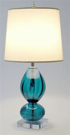 Teal Table Lamps: teal table lamps photo - 3,Lighting