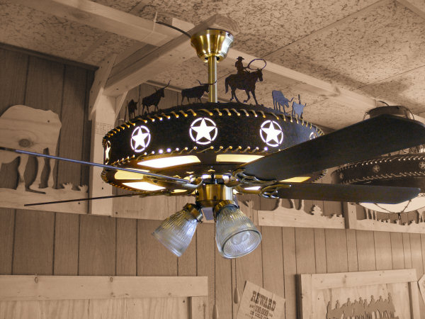 texas star ceiling fan photo - 10