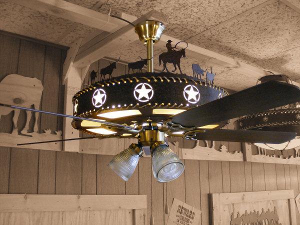 Texas Star Ceiling Fan 12 Ways Of