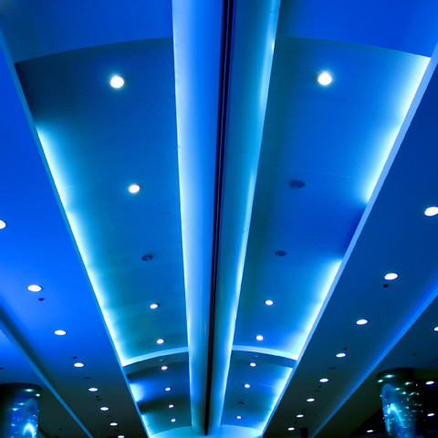 Cinema ceiling lights