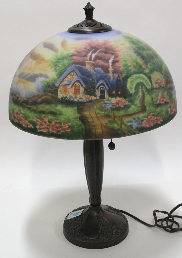 thomas kinkade lamps photo - 1