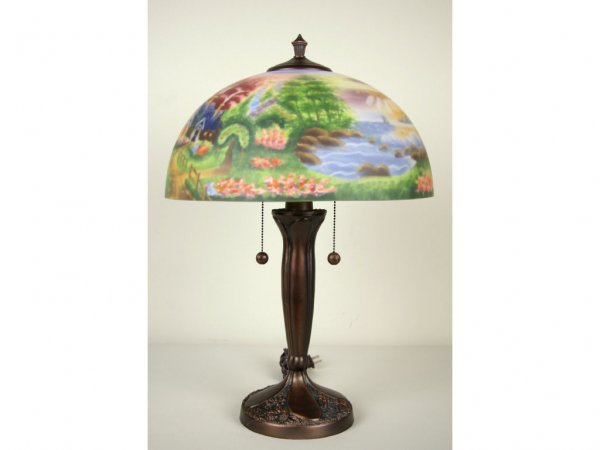 thomas kinkade lamps photo - 2