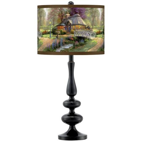 thomas kinkade lamps photo - 3