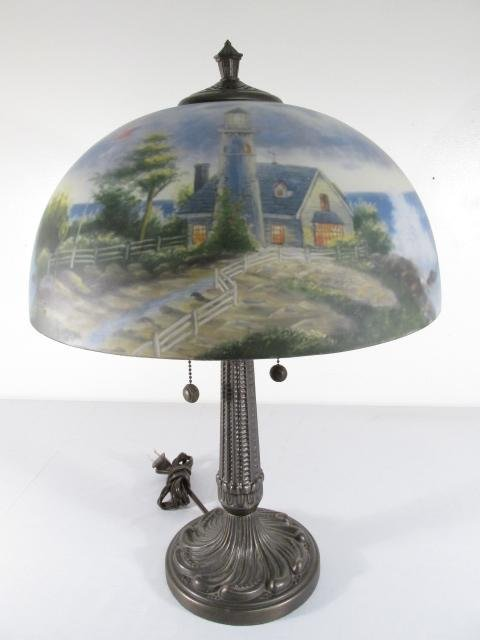 thomas kinkade lamps photo - 4