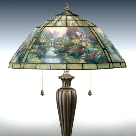 thomas kinkade lamps photo - 5