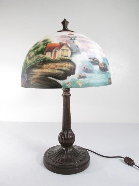 thomas kinkade lamps photo - 7