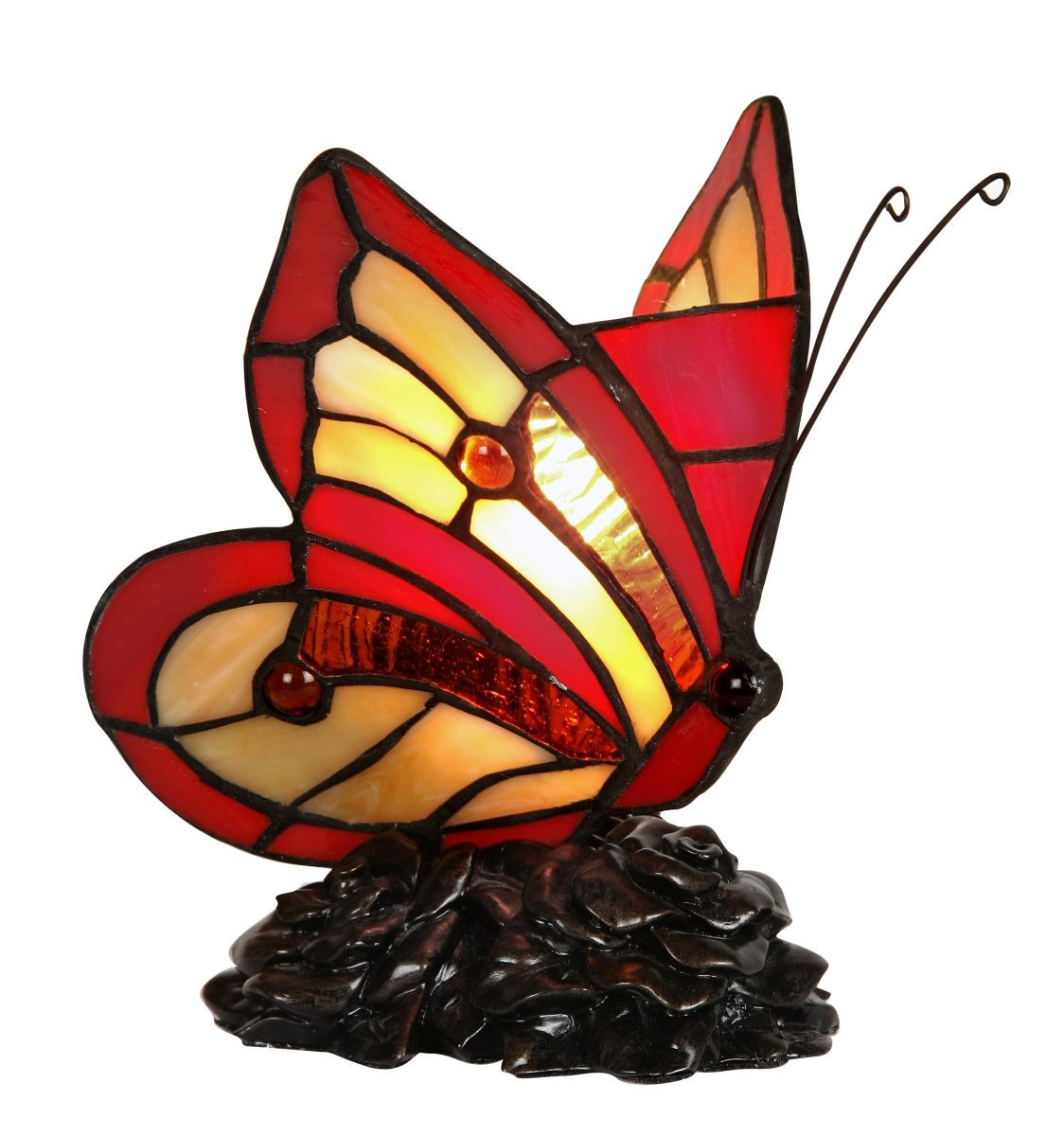 tiffany butterfly lamp photo - 1