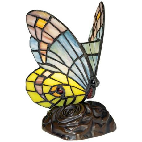tiffany butterfly lamp photo - 2