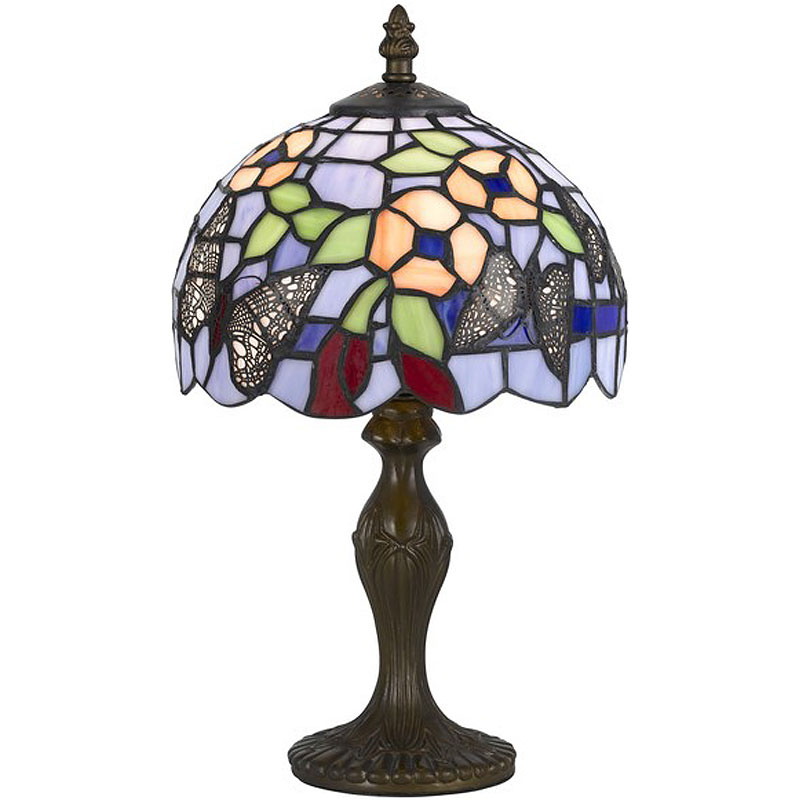tiffany butterfly lamp photo - 4