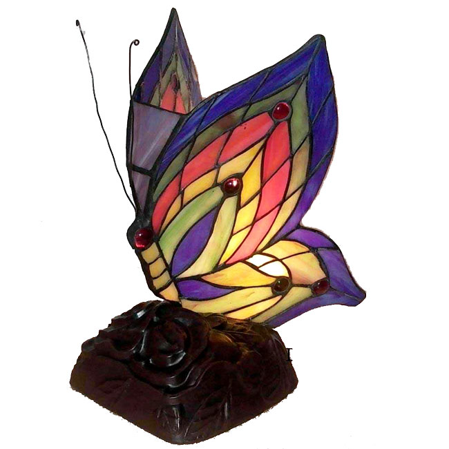 tiffany butterfly lamp photo - 5