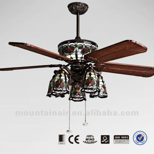 Tiffany ceiling fan lights : Warisan Lighting