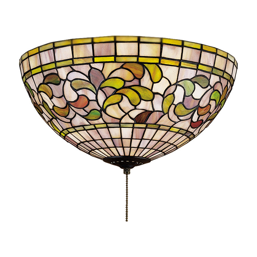 tiffany ceiling fan lights photo - 7