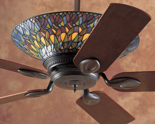 tiffany ceiling fan lights photo - 8
