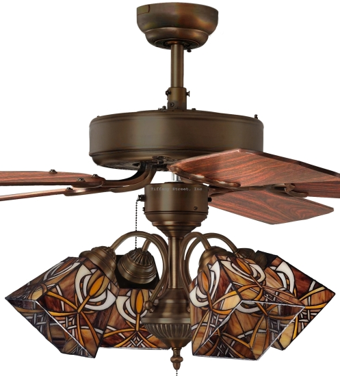 Top 10 Tiffany Ceiling Fan Lights 2019 Warisan Lighting