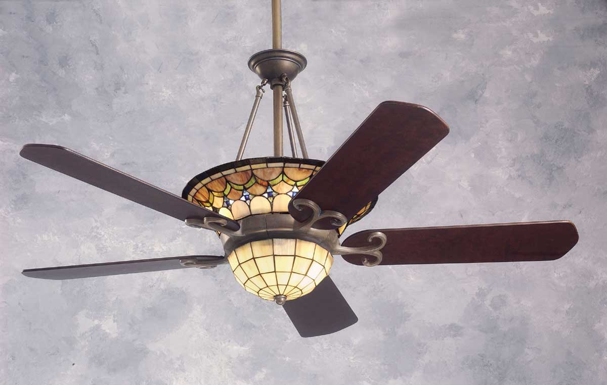 tiffany ceiling fans photo - 1