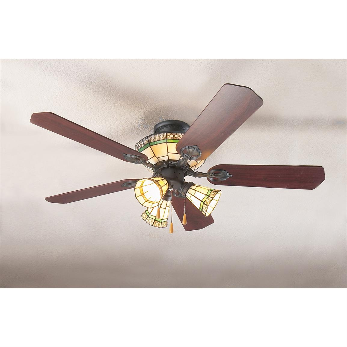 10 Ways To Install Tiffany Ceiling Fans Warisan Lighting