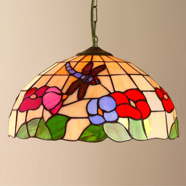 tiffany ceiling light photo - 3