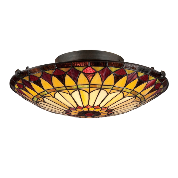 tiffany ceiling light photo - 9