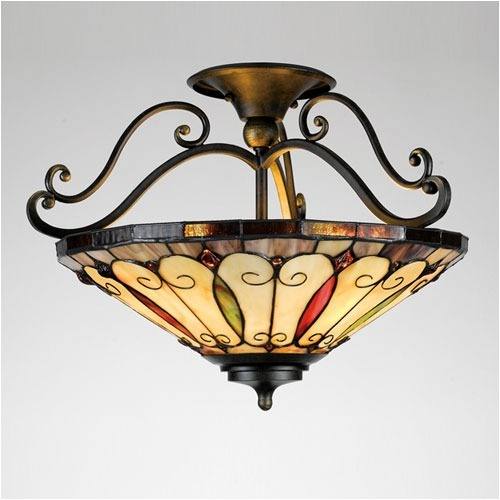 tiffany ceiling lights photo - 4