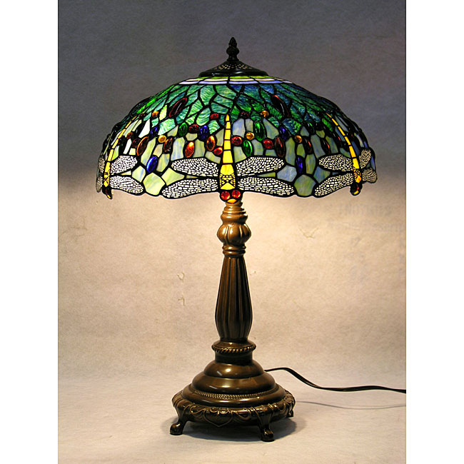 Tiffany dragonfly table lamp – Dragonfly Desk Lamp