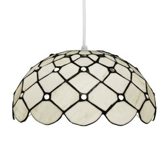 tiffany light shades ceiling photo - 1