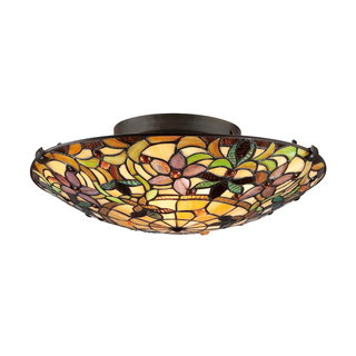 tiffany light shades ceiling photo - 5