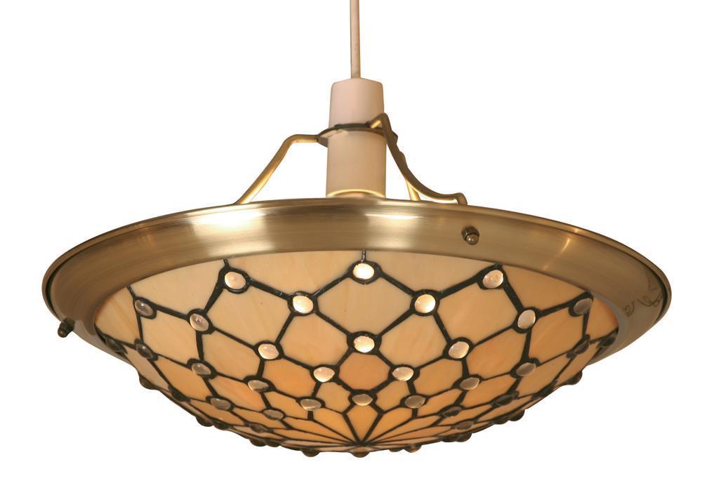 tiffany light shades ceiling photo - 6