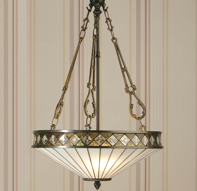 tiffany style ceiling lights photo - 6