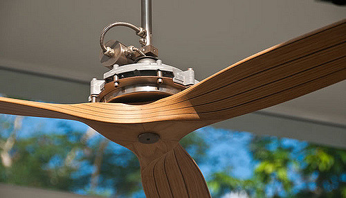 timber ceiling fans photo - 2