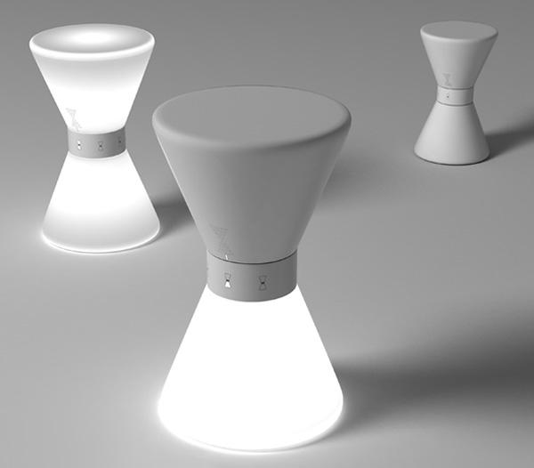 timer lamp photo - 2