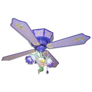 tinkerbell ceiling fan photo - 1