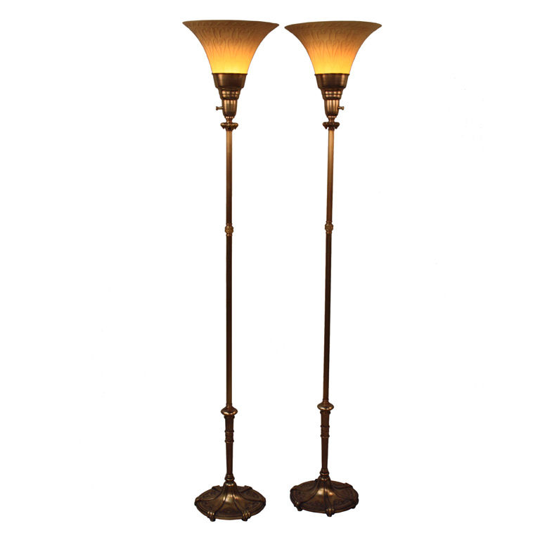 torchiere floor lamps photo - 7