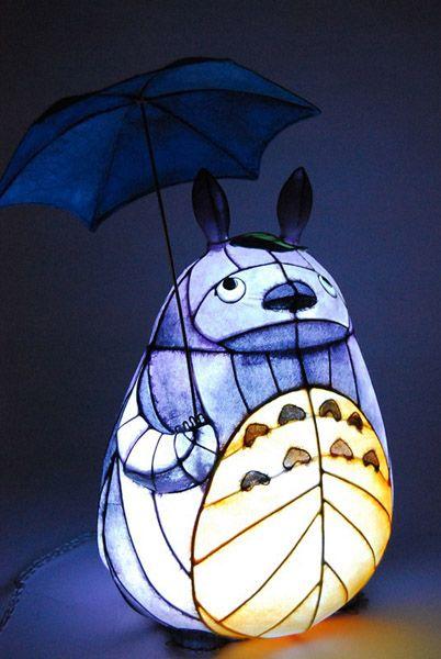 totoro lamp photo - 2