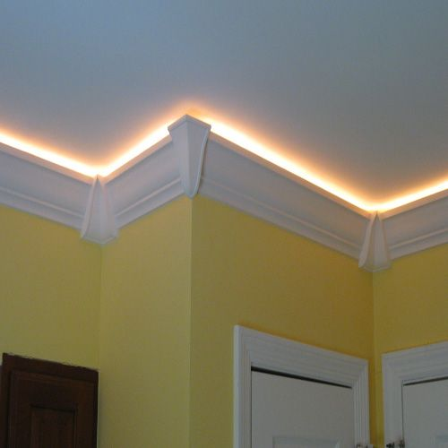 tray ceiling lights photo - 10