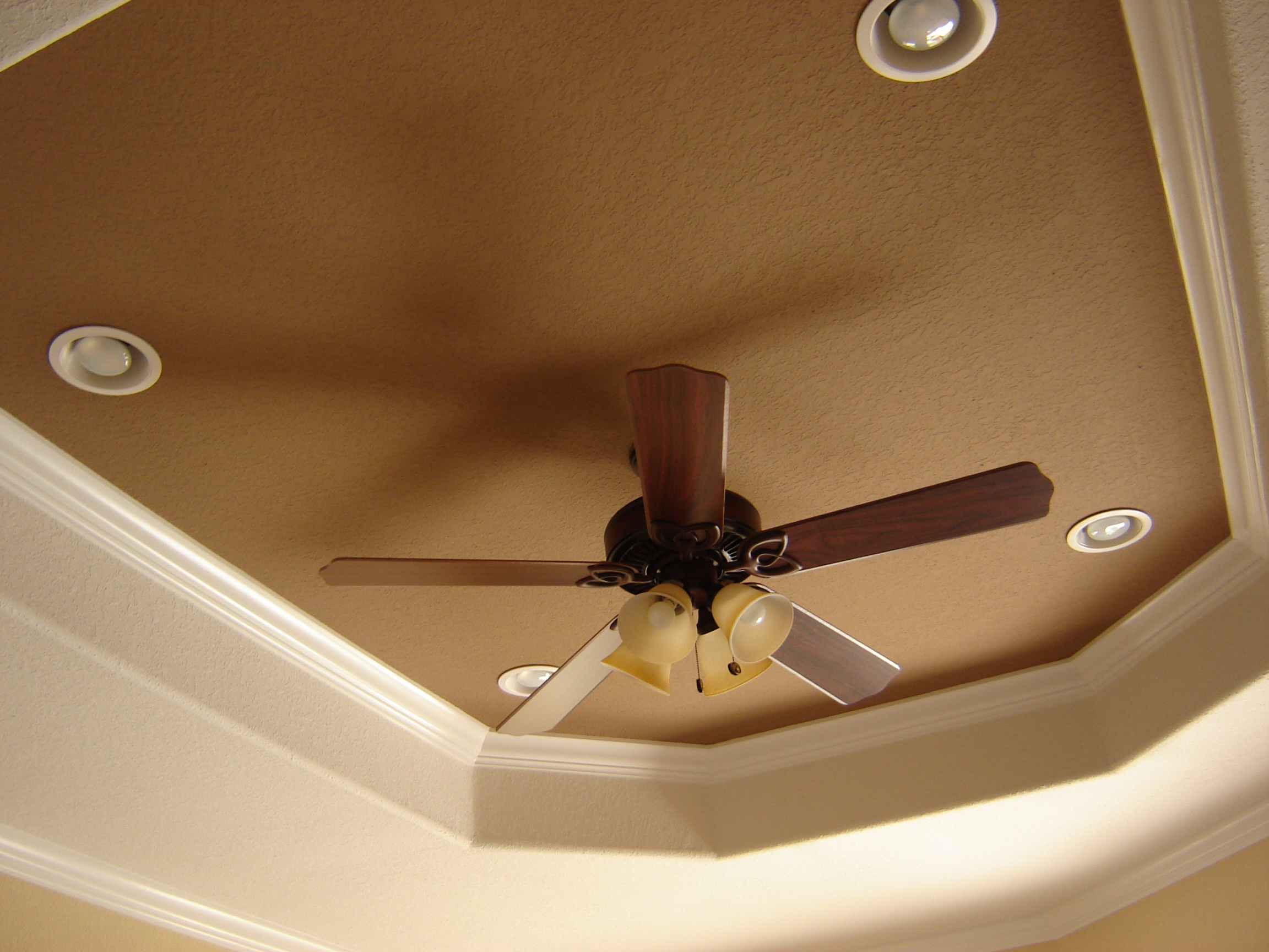 tray ceiling lights photo - 2