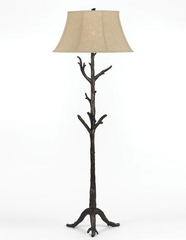 tree branch lamps photo - 10