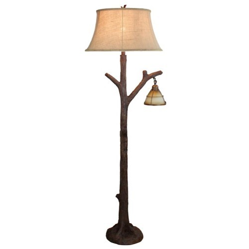 tree branch lamps photo - 2
