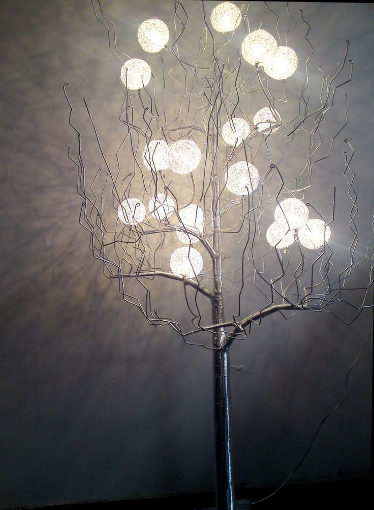 tree floor lamps photo - 2