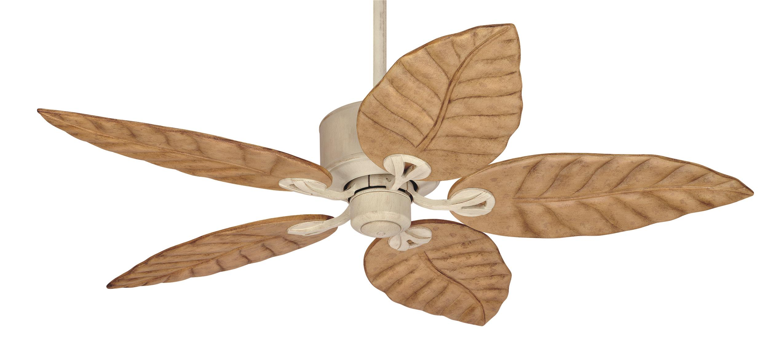 tropical leaf ceiling fan photo - 5