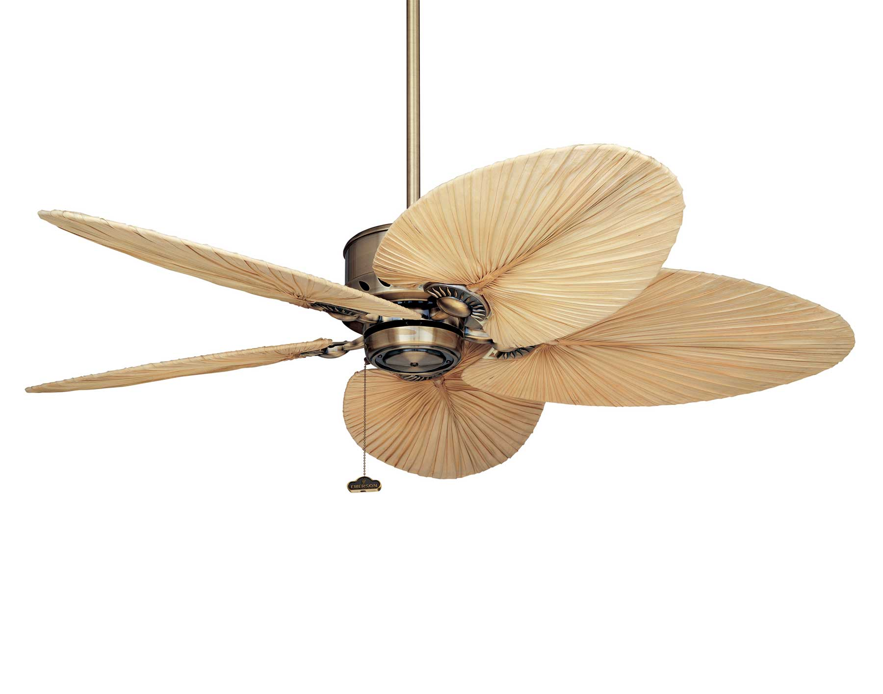 tropical leaf ceiling fan photo - 8